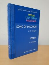 What the bible teaches Song of Solomon & Isaiah Ritchie Old testament Commentary