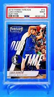 2018 Luka Doncic Our Time Threads RC #15 PSA 9 Dallas Mavericks *245