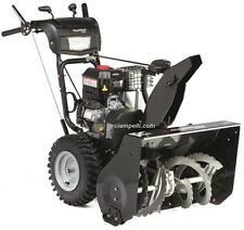 Fraise à neige MURRAY moteur B&S roues déneigeuse turbine chasse soufleuse