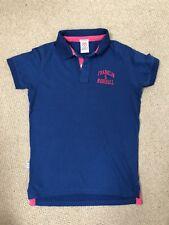 Franklin Marshall Polo Shirt/ Short Sleeved/ Navy Blue/ Size S