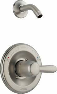 Delta T14238-SS Lahara Monitor 14 Series Shower Trim Kit with Showerhead