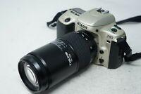 Nikon f50 camera SLR Camera and Tokina 70-210mm AF lens