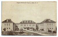 Early 1900s Higgins Memorial Hospital, Olean, NY Postcard