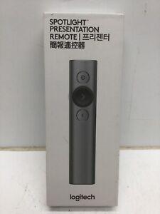 Logitech Spotlight Presentation Remote W/ Bluetooth - Slate - Wireless