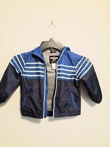 Oshkosh Bigosh Boys Jacket Blue And Navy Blue Size 2T