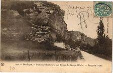 CPA Dordogne-Station préhistorique des Eyzies-La Gorge d'Enfer-Laugerie (233383)