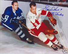GORDIE HOWE DETROIT RED WINGS SIGNED AUTOGRAPHED 8X10 PHOTO RP