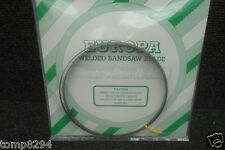 """EUROPA THIN GAUGE CARBON BANDSAW BLADE 561/2"""" X 1/4"""" X 14TPI TO FIT BURGESS BK1"""