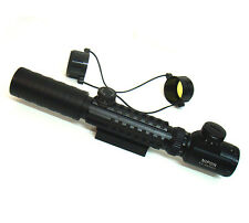 3-9x32 EG sighting scope and rifle scope. 3x to 9x zoom, 32mm objective lens