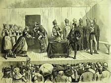 Ridgewood Park L.I. Szwabian Volksfest WOMEN of WEINSBERG 1879 Print Matted
