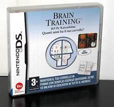 BRAIN TRAINING GIOCO USATO IN OTTIMO STATO PER DS 3DS EDIZIONE ITALIANA 28808