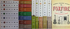 Complete Foxfire Set Collection by Wiggitnton 1-13 with 45th Anniversary Book