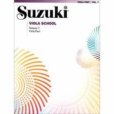 Suzuki Viola School - Volume 7 - Book - Authorized Dealer!