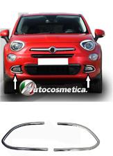 Modanatura Cornici Fendinebbia Paraurto Anteriore acciaio cromo Fiat 500x cromat