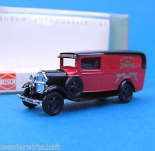 Busch H0 47703 Ford AA Zentis Royal Mail Oldtimer van OVP HO 1:87 box