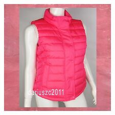 GAP WOMEN'S PINK  PUFFER FALL WINTER VEST JACKET SIZE  XXL