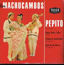 CD single: los Machucambos: Pepito + 3. ltd ed: N°1129. universal. D1