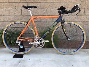 Javelin Aero 54cm Triathlon Bike Dura Ace And Ultegra - 700c clincher Wheels.
