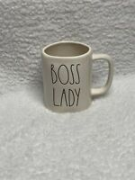 **NEW** Rae Dunn BOSS LADY White Glossy Mug