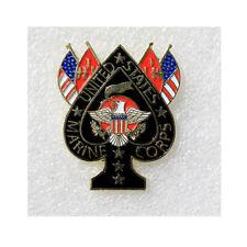 United States Marine Corps States USA Spade USMC USA Pin Anstecker Anstecknadel