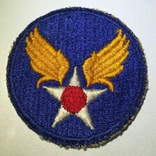 Original WWII U.S. ARMY AIR FORCE CUT EDGE PATCH FIGHTERS BOMBERS PILOT USAAF NG