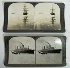 STEREO CARDS, WHALING, SHIPPING, KEYSTONE – Set 2
