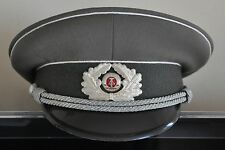 1980s GDR Military eastern German Army Stasi Senior Officer Visor Hat Cap Sz.60