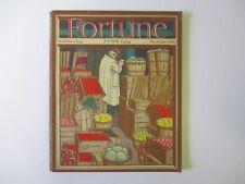 FORTUNE Magazine June 1934 Volume IX Number 6 - Pierre Brissaud Cover