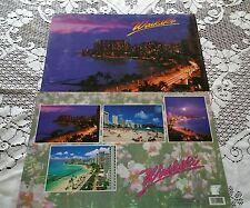 Table Desk Play Mats Water Hawaii Dusk Waikiki 1994 set of 2