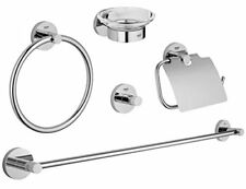 Grohe Essentials 40344 Set 5 in 1/supporto-cartegienica Supporto Asciugamano