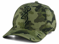 Browning Stalker Camo Stretch Fit Men's Hat Cap size S/M (Small/Medium)