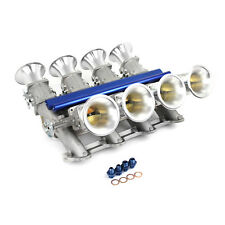 Chevy GM LS3 Sidedraft EFI Stack Intake Manifold System Complete Satin