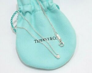Tiffany & Co. Sterling Silver Peretti By The Yard Diamond Necklace