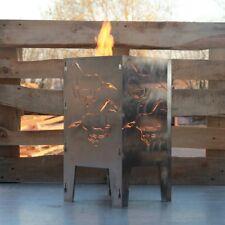 Feuerkorb Feuerschale Gartenfeuer Feuerstelle  Pferd 300 x 300 Serie Coybo