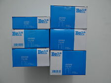 """UPHOLSTERY STAPLES, BEA71 SERIES, 6 BOXES,1BX 1/4"""", 2BX 3/8"""", 2BX 1/2"""", 1BX 9/16"""