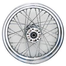 Chrome 40 Spoke 16x3 Rear Wheel Harley Softail Dyna 2000-05 Sportster 00-04