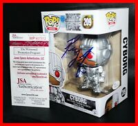 🔥 Ray Fisher Signed Autographed Cyborg Justice League Funko POP WITNESS JSA