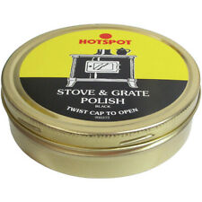 Hotspot Stove Grate Black Fireplace Polish 170-Gram Tin