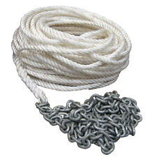 """Powerwinch 300' of 1/2"""" Rope 15' of 1/4"""" HT Chain Rode"""