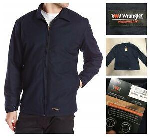 New Wrangler Workwear mens navy jacket, sz XXL