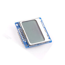 NEW 84x48 Nokia LCD Module Blue Backlight Adapter PCB Nokia 5110 LCD For Arduino
