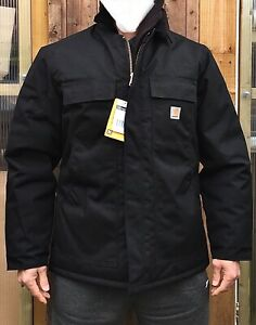 RP £205 M-L  Carhartt C55 Extremes Arctic Coat  Quilt Lined Yukon , Black