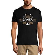 ULTRABASIC Homme T-shirt Forever Gamer - Joueur à Vie - Gamer Vie - Gamer Life