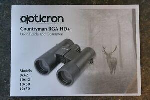 Opticron Countryman BGA HD+ 10x42