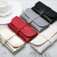 Easy To Carry Ladies Leather Fashionable Glasses Case Glasses Accessories