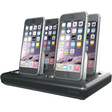 EFM 4+2 CHARGER HUB IPHONE 6 IPAD 4X LIGHTNING DOCK + 2X 2.4A USB MIFI APPROVED