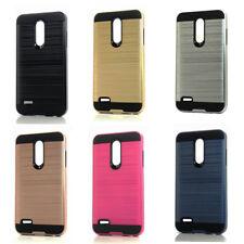 Lot/6 Brushed Finish Hybrid Case for LG Q7, Q7 Plus Wholesale