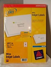 AVERY J8173-100 INKJET PRINTER LABELS 10 PER A4 SHEET 100 SHEETS FREE DELIVERY