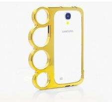 Coque Samsung Galaxy S4 i9500 S 4 Or POING AMERICAIN  BUMPER  Gold Case Knuckle