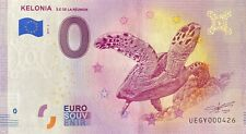 BILLET 0  EURO KELONIA LA REUNION  FRANCE 2019  NUMERO DIVERS